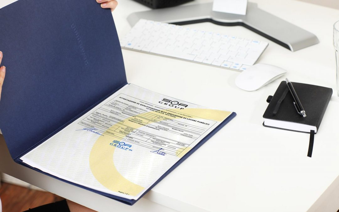 Ampliata la certificazione SOA per le ristrutturazioni chiavi in mano